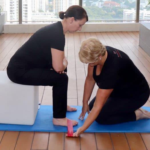 balancing the diaphragms